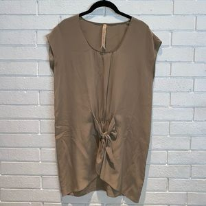 Bailey 44 gold silk Dress or Top Size small